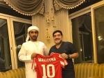 Diego Maradona appointed Al-Fujairah's manager