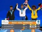 India's Mirabai Chanu wins gold in her category in World Weighlifting Championship