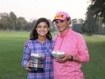 Nikita Biswas is the Winner of the 36th Taj Bengal Golf Trophy 2017