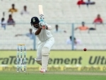 Kolkata Test: India struggle at 74/5 at lunch on Day 2