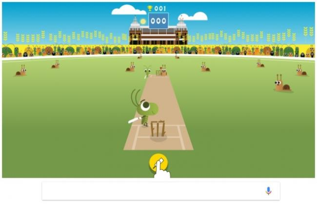 Google commemorates start of ICC Women's CWC with an interactive doodle