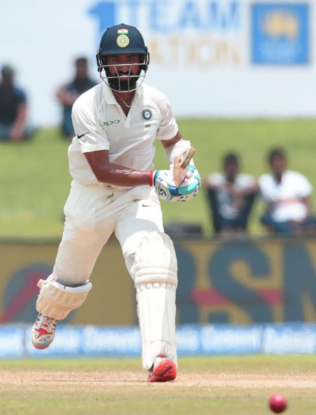 SLTest: Pujara, Dhawan help India post 399-3 on first day