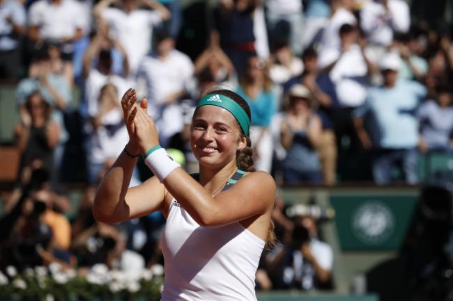 Jelena Ostapenko stuns Simona Halep to win French Open title