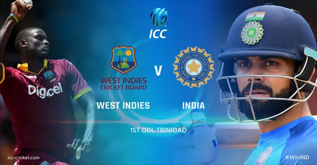 West Indies win toss, opt to field against India