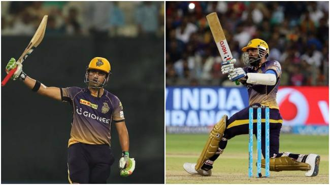 Gambhir and Uthappa's half centuries help KKR to beat RPS by seven wickets