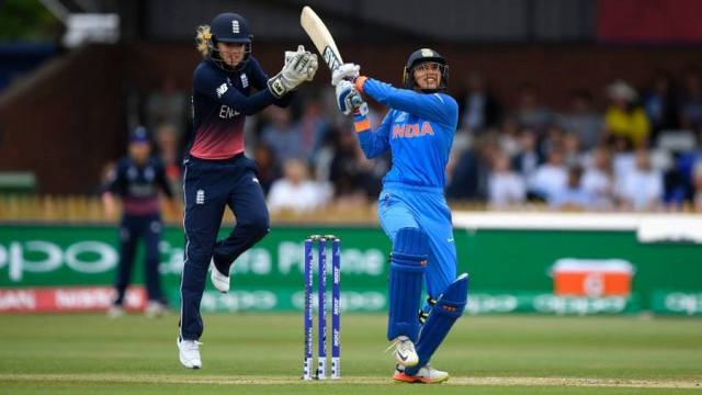 ICC Women's World Cup: India score 281/3 in 50 overs against England