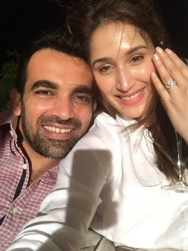Zaheer Khan gets engaged to actress Sagarika Ghatge