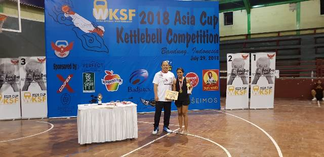 Indian Women shine in Indonesia at the Asian Kettlebell Competition 2018