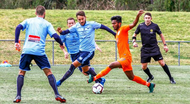 India go down fighting against Sydney FC