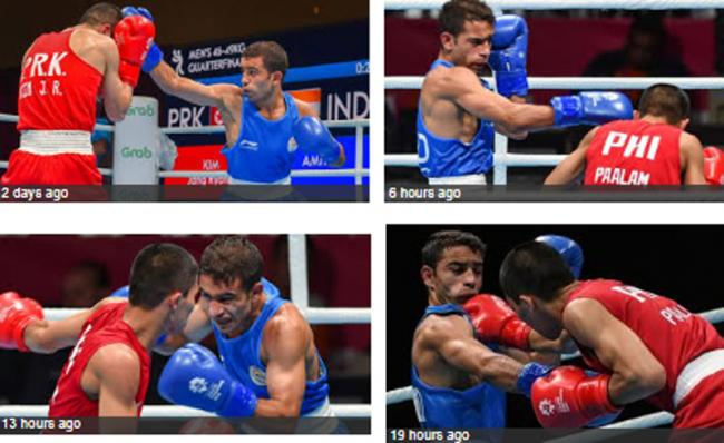 Asian Games : Amit Panghal wins gold in boxing