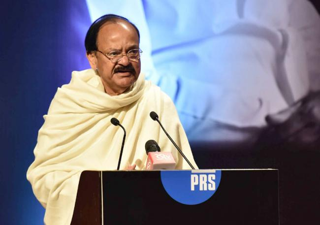 Every child should be encouraged to take up some form of sporting activity: Vice President Naidu
