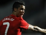 Portugal's football star Christiano Ronaldo joins Juventus