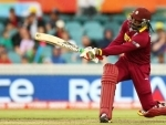 Chris Gayle touches Shahid Afridi's sixer record