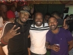 Chris Gayle meets Usain Bolt, shares picture on Instagram