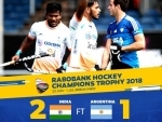 Champions Trophy: India defeat Argentina 2-1