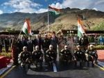 Indian Army's 'Shwet Ashw' team successfully concludes the expedition to Dras to commemorate Kargil War Heroes
