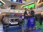 Nissan KICKS brings ICC World Cup Trophy to Kolkata