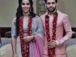 Saina Nehwal ties knot with Parupalli Kashyap, shares images on social media