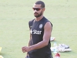 BCCI hails Shikhar Dhawan for scoring century before lunch on Test Day 1
