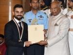 BCCI congratulates Virat Kohli and Smriti Mandhana for getting sporting honours