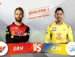IPL playoffs: Chennai Super Kings win toss, elect to bowl first against Sunrisers Hyderabad