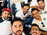 Indian cricket team fly off to Dubai for Asia Cup 2018