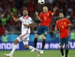 Spain-Morocco clash ends in 2-2 draw