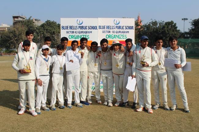 Blue Bells Public School levels two match series against Junior Cricket Academy, Sri Lanka