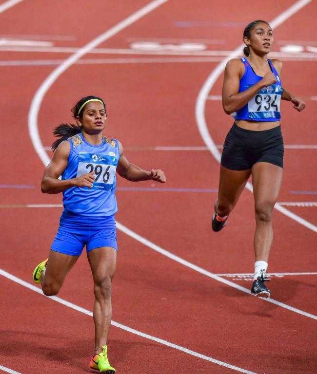 Asian Games: Indian sprinter Dutee Chand wins silver