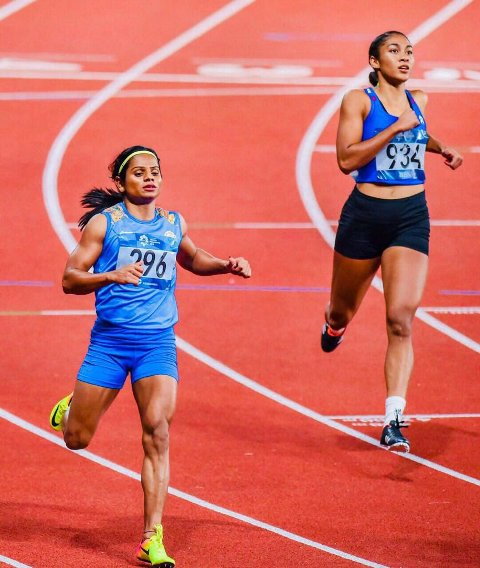 Asian Games: Dutee Chand wins silver in 200 metres race