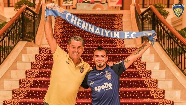 Chennaiyin FC sign Palestine forward Carlos Antonio Salom