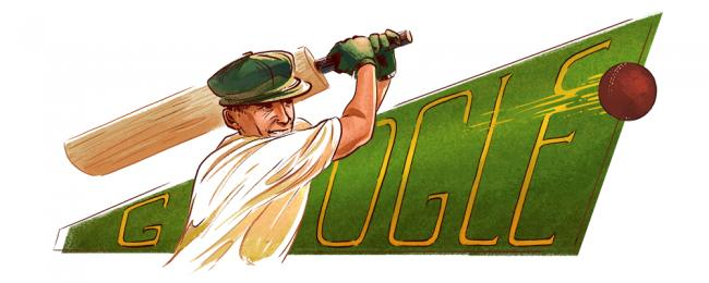 Google celebrates Australian cricket legend Don Bradman's birth anniversary with a colourful doodle