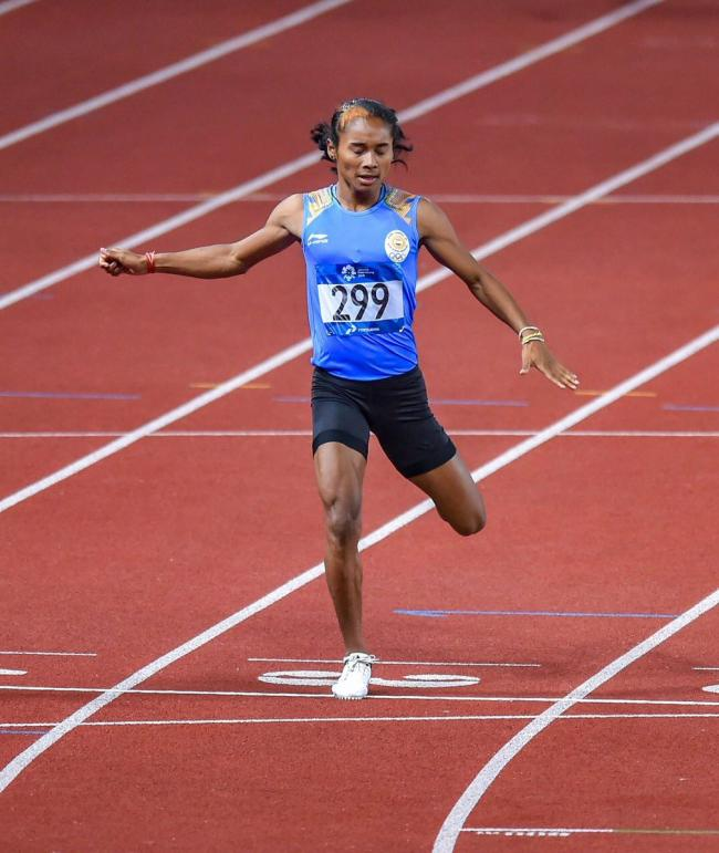 Hima Das feels 'wonderful' after winning silver medal in Asian Games