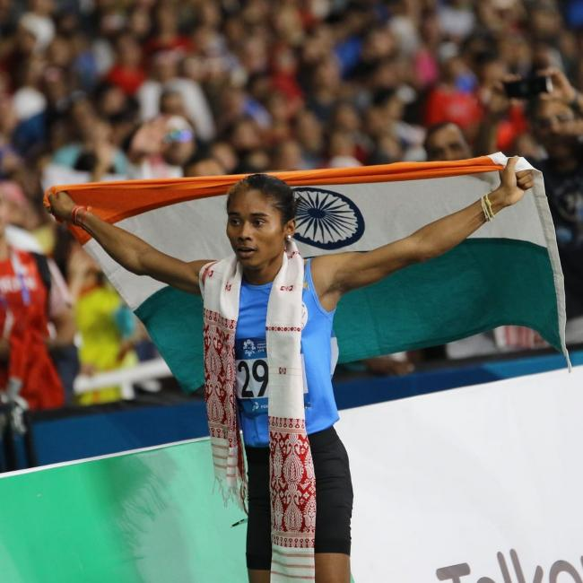 Indian team win silver in Asian Games Mixed Relay 4*400m final