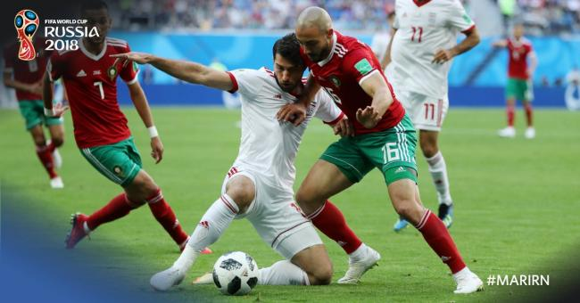 Iran win first World Cup match in 20 years by beating Morocco 1-0