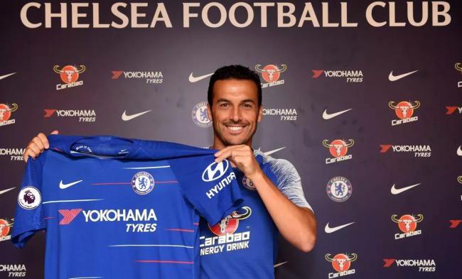 Chelsea extends Pedro's contract