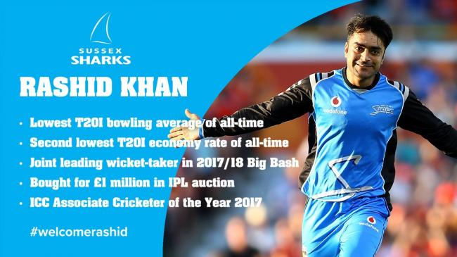 Afghanistan's Rashid Khan becomes youngest captain in international cricket history