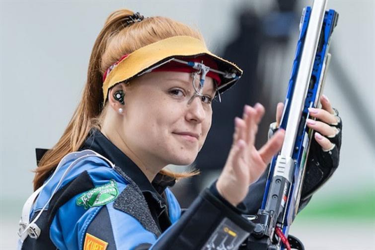 Christen wins women's 50 m Rifle 3 Positions Final in New Delhi