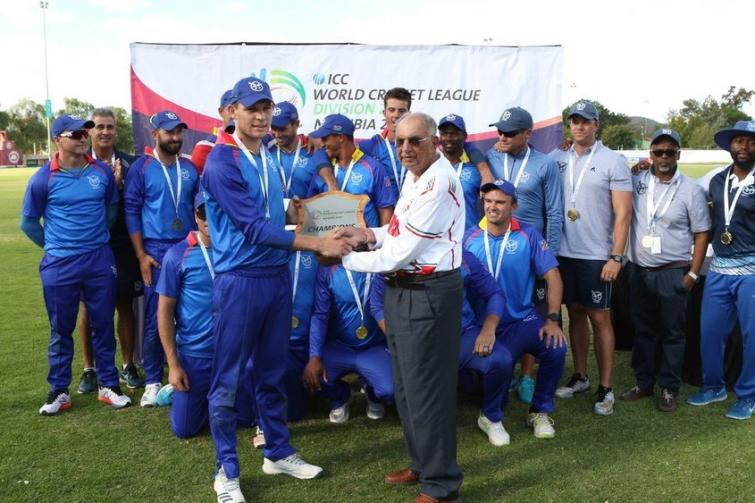 Namibia crowned ICC World Cricket League Division 2 champions with victory over Oman