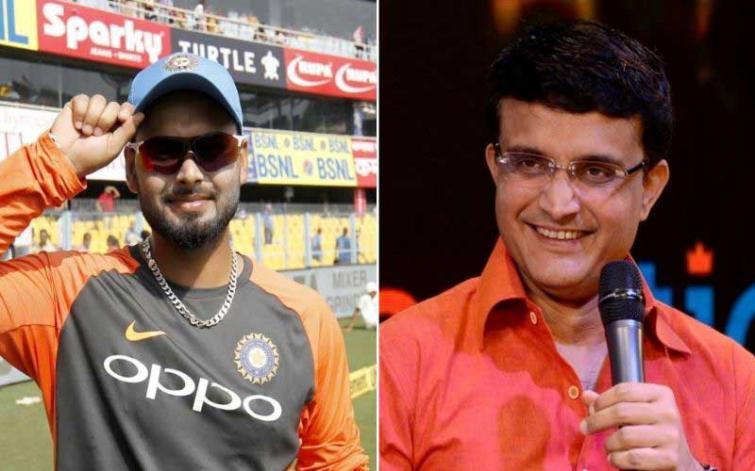 India shouldn't make Rishabh Pant sit outside for long: Sourav Ganguly
