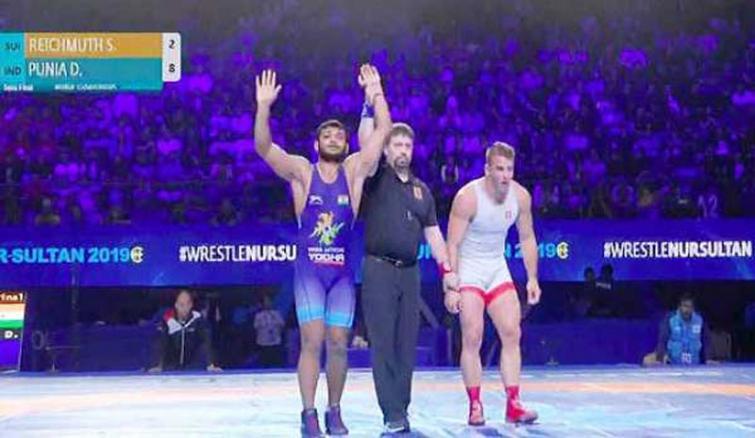 Wrestling championship: Deepak Punia secures Olympics quota