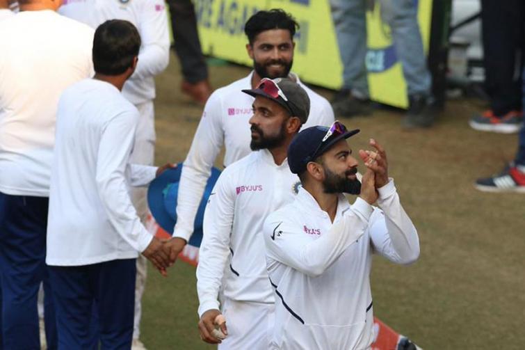 India thrash Bangladesh by an innings and 130 runs, take 1-0 lead