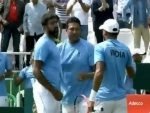 India keep hope alive for berth in main round of Davis Cup tennis