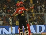 Royal Challengers Bangalore wins by 10 runs despite Russell, Rana scare