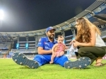 Rohit Sharma shares beautiful picture of his family on social media