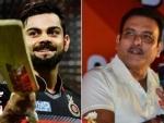 Indian coach Ravi Shastri turns 57, Virat Kohli wishes him