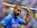 Injured Indian opener Shikhar Dhawan ruled out of World Cup