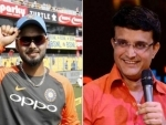 India shouldn't make Rishabh Pant sit outside for long: Sourav Ganguly