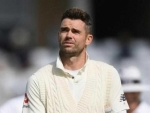 James Anderson will miss second Test due to injury