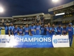 Virat Kohli smashes 43rd century of his career as India beat West Indies by six wickets to clinch series